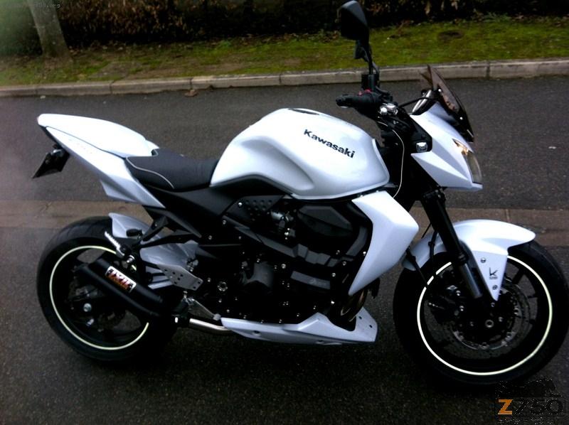 Moto Kawasaki Z750 occasion moto 09 Ariege